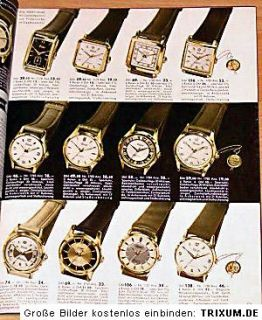 Wenz Katalog 1956 Uhren, Schmuck, Besteck, Porzellan