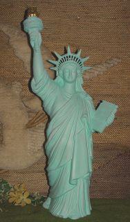 GS 1838   Keramik Figur  Freiheitsstatue Höhe 62 cm