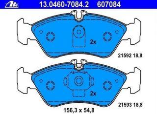 ATE Bremsbeläge hinten MERCEDES SPRINTER (903) 3 t