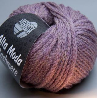 Lana Grossa Alta Moda Cashmere 023 twilight mauve 50g Wolle