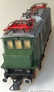 E17 114 DB E Lok für Märklin Digital AC Roco 69835 H0 1/87 neuwertig