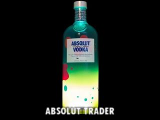absolut limited edition vodka