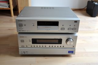 Onkyo Integra DV S939 DVD, CD, DVD Audio Player, silber, top Zustand