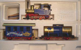 Fleischmann MagicTrain 0e Dampflok mit 2 Wagen im Set Neu(945)