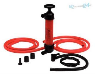 KS TOOLS Flüssigkeitspumpe Benzin Diesel Pumpe absaugen Öl Wasser