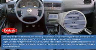 Autoradio DVD GPS NAVI DVB T TV PIP für VW T5 Passat B5 Golf 4 POLO