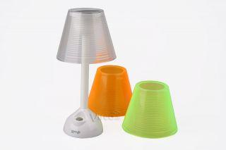 POWERplus Turtle Solar LED Tischleuchte Tisch Lampe 3 farbige