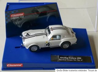 Carrera 30620 Digital132 Shelby Cobra 289, Hardtop Coupe ´63, No. 4