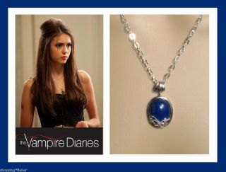 DIARIES Katherine s LAPIS LAZULI Daylight KETTE necklace 925 SILBER