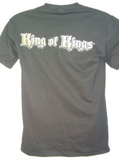 Triple H King of Kings Skull T shirt WWE New