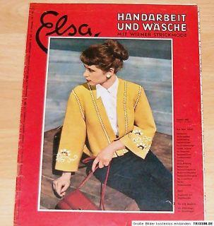 Elsa Handarbeit und Wäsche, Mai 1953