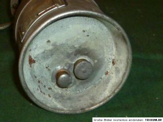Alte Grubenlampe BERGBAU Lampe Frosch? Karbidlampe Bergbaulampe