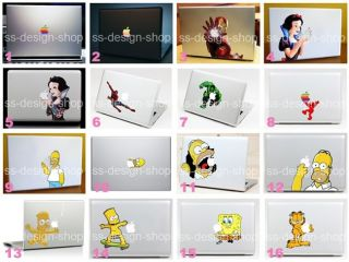 Homer Simpsons Aufkleber Sticker fur Apple Macbook Skin