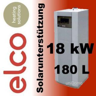 Elco Duatron Solar 18 Gas Brennwert Therme / Heizung