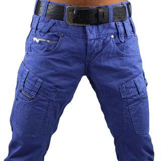 CIPO & BAXX Chino C 937 W31 L 34 blau Hose Chinohose Herren Style