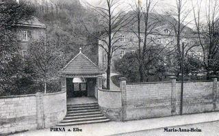 Pk, Pirna a. Elbe   Maria Anna Heim, gel.1931
