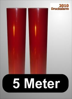 Klebefolie, Plotterfolie, Möbelfolie, BORDEAUX ROT glänzend, 5m, b