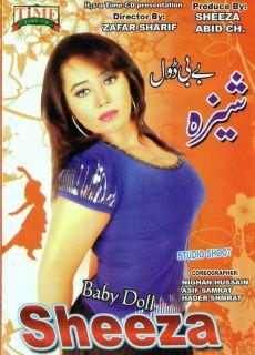 PAKISTANI BABY DOLL DANCER ~ SHEEZA ~ NEW DANCING MUJRA SEXY DVD # 002