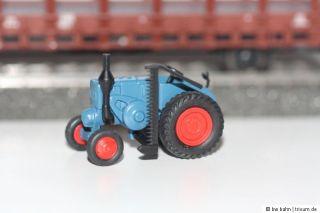 Märklin H0 Rungenwagen mit Lanz Traktor aus 29240 Neu