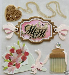 JOLEES BOUTIQUE MOM FLOWERS MOTHER NEW
