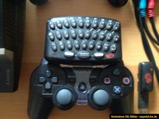 Sony PlayStation 3 60 GB Piano Black Spielkonsole (PAL)+ 2 Spiele