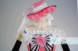 Black Butler Ciel Girl Lolita Cosplay Costume