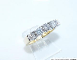 LUXUS* F/VVS 1,52 CT DIAMANTRING GOLD 750 5,4 GR BRILLANTEN RING
