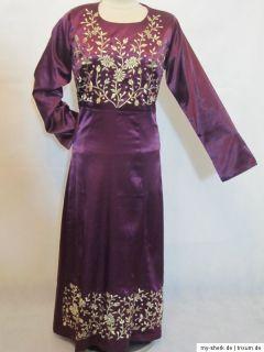 Kleid Bodenlang bordeaux elegant JILBAB CAFTAN TAKCHITA ABAYA ORIENT