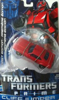 TRANSFORMERS PRIME ANIMATED SERIES FIRST EDITION DELUXE CLIFFJUMPER