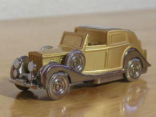 Feuerzeug Rolls Royce Phantom 164 Goldfinger 007 , funktionstüchtig