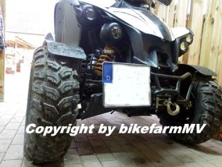 verst. LOF Kennzeichenhalter Front Quad ATV TGB Target Blade 425 500