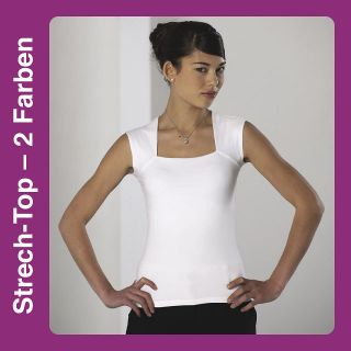 0R990 Elegantes ärmelloses Stretch Top Shirt T Shirt Robe viele