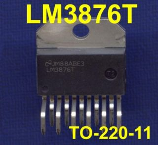 LM3876T LM3876 TO 220 Audio Power Amplifier w/ Mute 56W