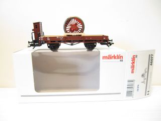 Märklin 46077 Güterwagen X05 mit Radsatz DB EP 3 OVP KKK NEU FKU986