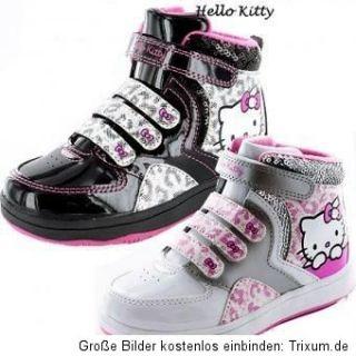 Hello Kitty Halbschuhe Sneaker Stiefel Schuhe Übergang Gr. 26   35