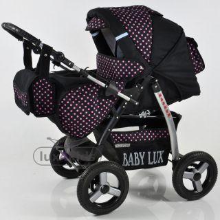 Magnum mit Babyschale + Sonnenschirm * KOMBI KINDERWAGEN * Lux4Kids