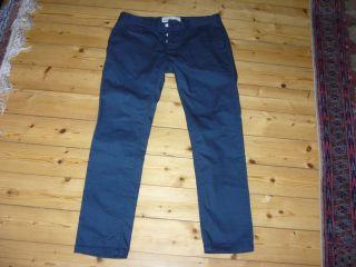 Topman London Skinny Chino blau 32 neuwertig