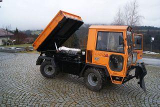 Komunalfahrzeug Hansa APZ1003 Unimog Raeumgeraet Allrad LKW Kipper