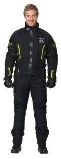 Motorrad Jacke GORE TEX RUKKA ATHOS *UPE 499,95 Gr 52 Farbe gelb