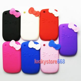 Hello Kitty Silicone Back Case Cover for BlackBerry Curve BB 8520
