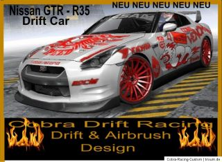 Rc Drift Car Nissan GTR   R35 von Cobra Racing Team