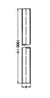 M36x1000 MM V2A GEWINDESTANGEN EDELSTAHL A2 DIN976 DIN 976 975