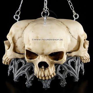 Totenkopf Deckenlampe   Markus Mayer   Skull Lampe Gothic Fantasy