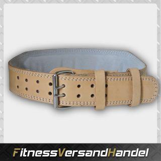 Fitness Bodybuilding Gewichthebergürtel, Leder
