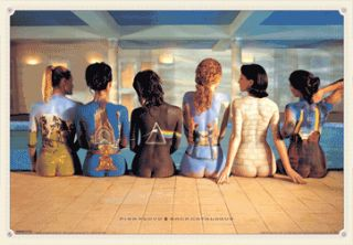 3D Lenticular Poster 47 x 67cm Pink Floyd Back Catalogue