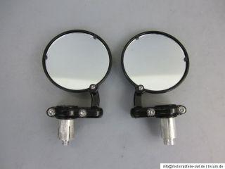Buell Harley Davidson Lenkerendenspiegel Spiegel Lenkerspiegel 22mm 7