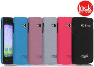 Matte Hard Cover Case + LCD Guard For Alcatel One Touch OT 992D OT 992