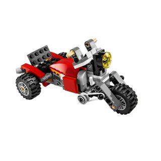 Lego Creator 5763 3in1 Racer Buggy Trike Quad Bike Fahrzeuge Bausatz