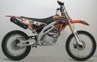 ICS CBF33C Enduro Cross Dirt Bike 250CC/4Takt Orange