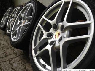 Original PORSCHE 911 997 Carrera S II Felgen C4 4S 19 Winterräder